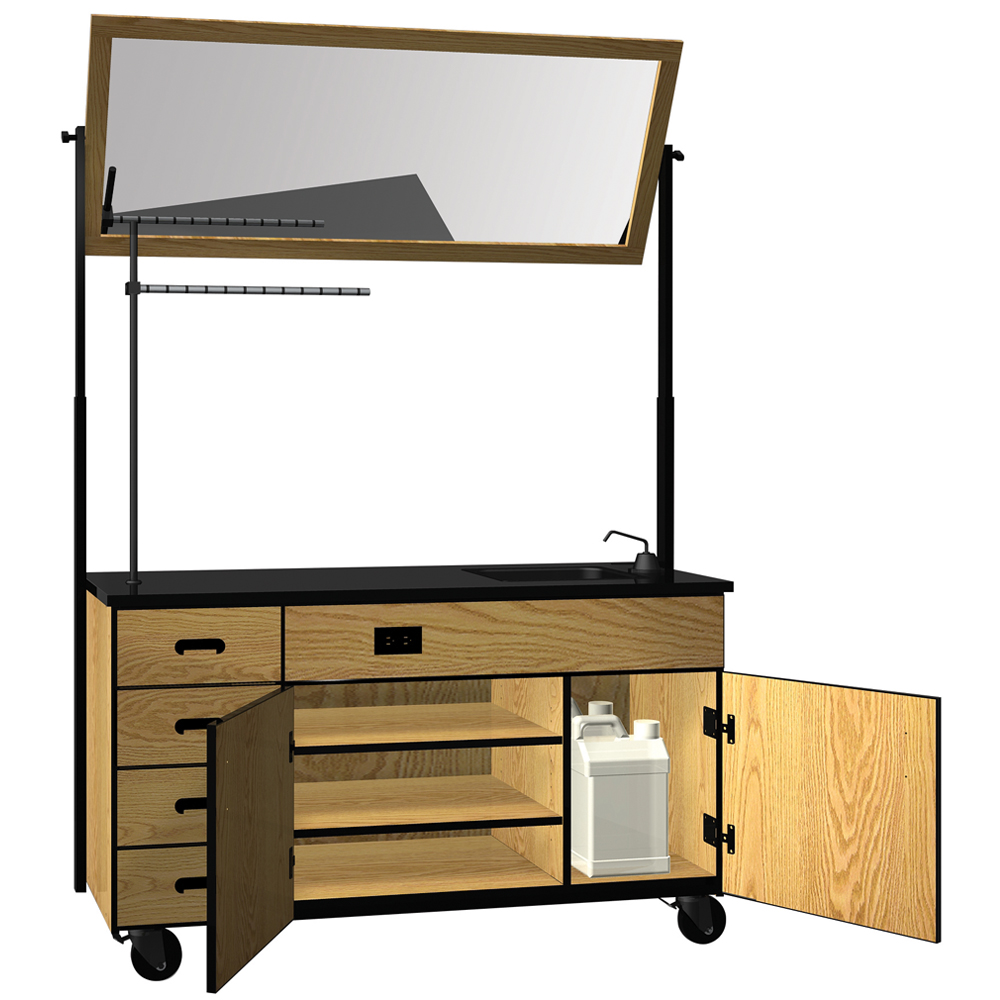IRONWOOD Science Mobile Demo Cabinet