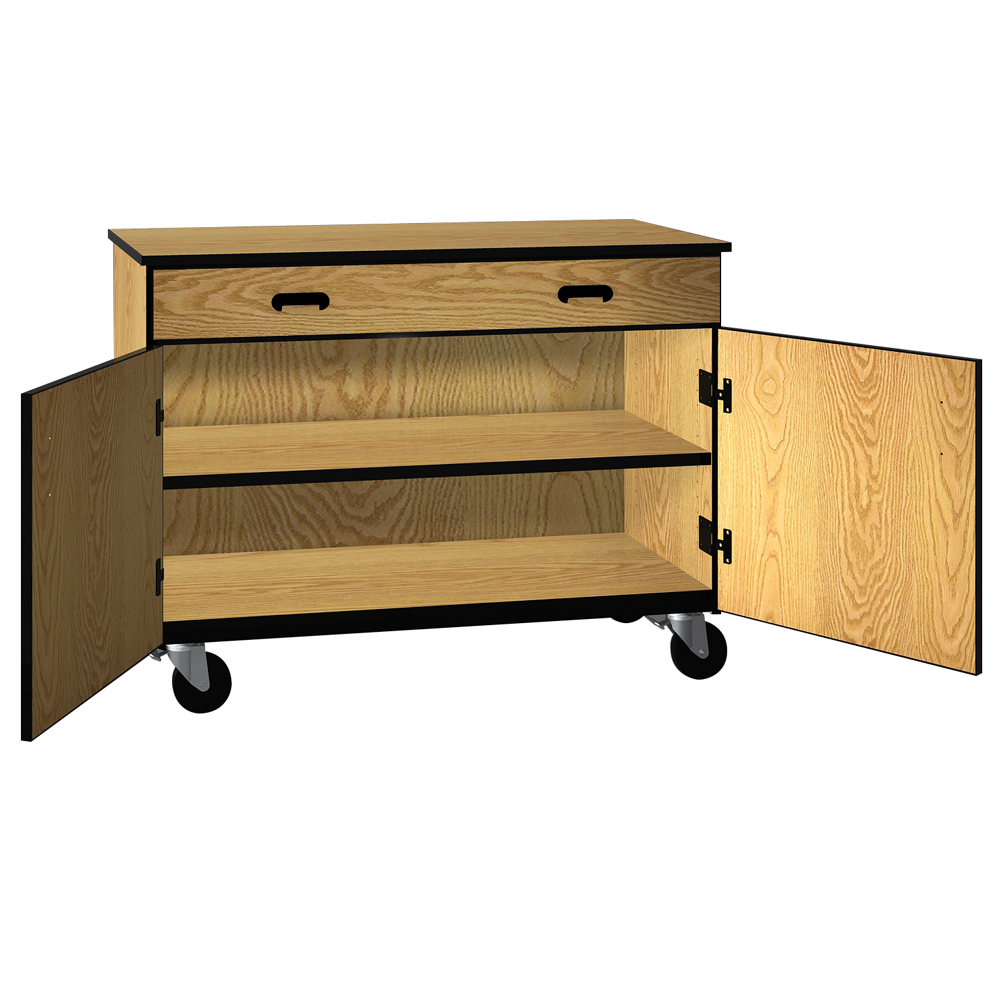 IRONWOOD Science Low Storage Drawer with Shelf