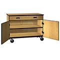 IRONWOOD Science Low Storage Drawer with Shelf