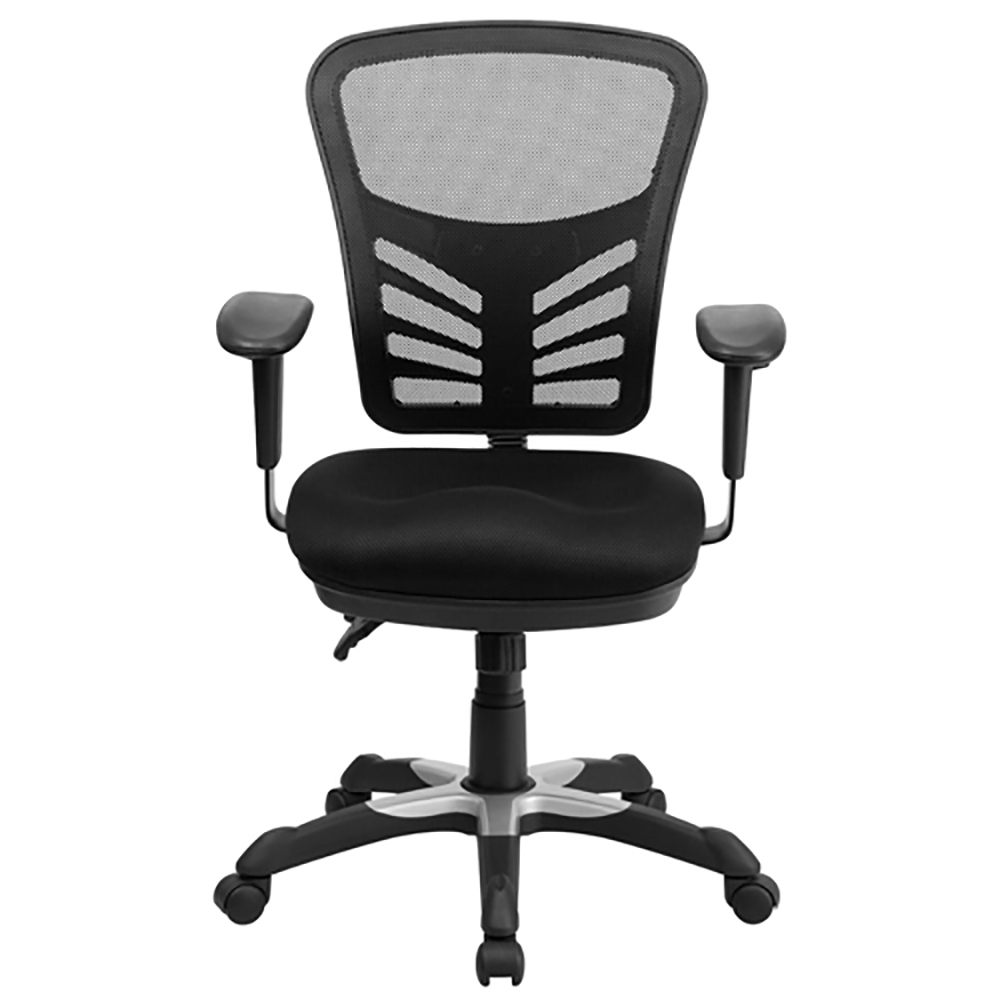 Mid-back Mesh  Task Chair w/ Triple Paddle Control
