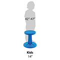 Kore™ Antimicrobial Wobble Chair - 14