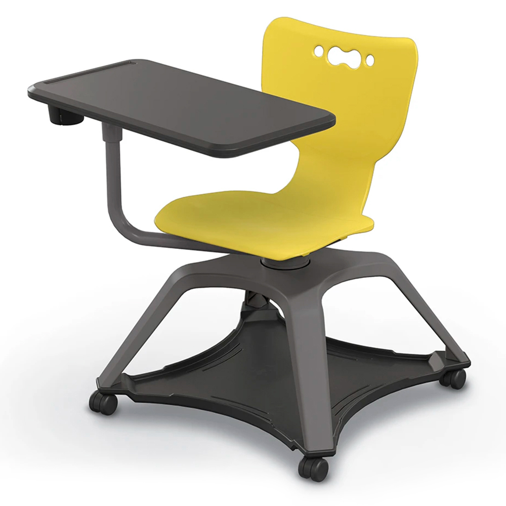 MooreCo®  Hierarchy Enroll™  Tablet Chair- Laminate Surface