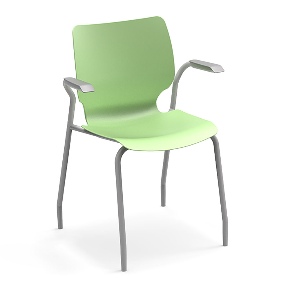 SMITH SYSTEM® Theorem™ Stack Chair w/Arms