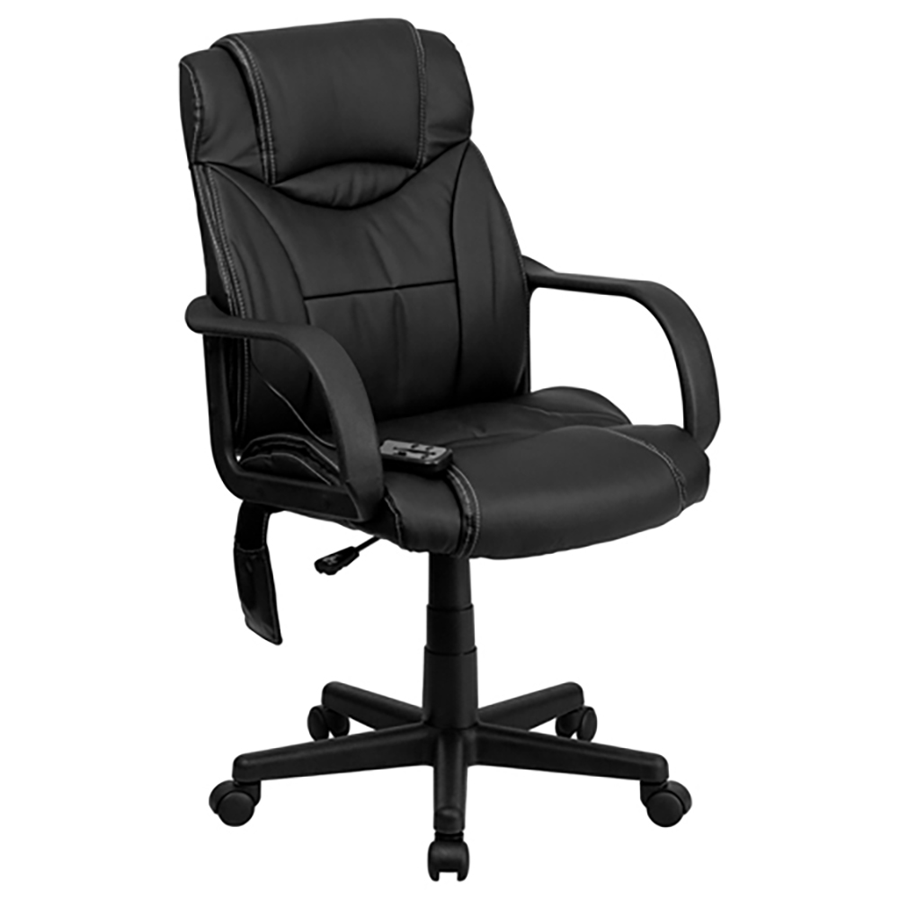 Mid-Back Ergonomic Massaging Executive Office Chair