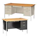 Sandusky Lee® Steel Teacher Desks