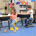 Kore™ Design Antimicrobial Wobble Chairs