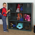 Sandusky Lee® Cubby Storage Organizer - 9 Sections