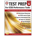 Save 43%      Test Prep for CCSS Performance Tasks Book - Grade 6 - CLEARANCE