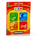 STEM Year Round Project - Based Activities Book - Grades: 1-2