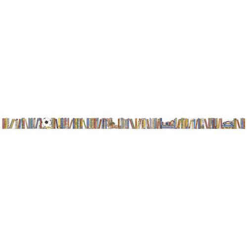 Children's Bookshelf Chalkboard Topper Border