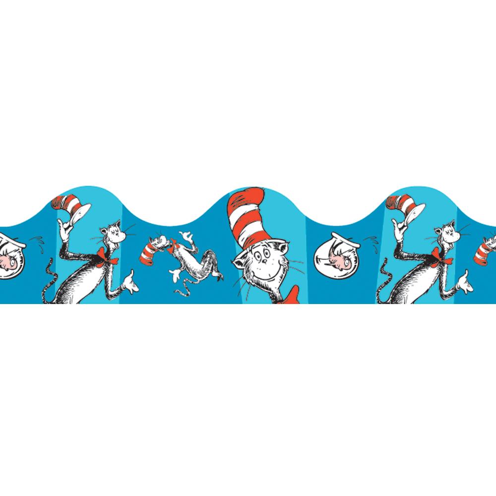 Dr. Seuss™ The Cat in the Hat™ Blue Deco Trim®