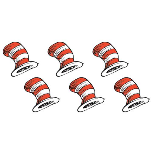 Dr. Seuss™ The Cat's Hat Stickers