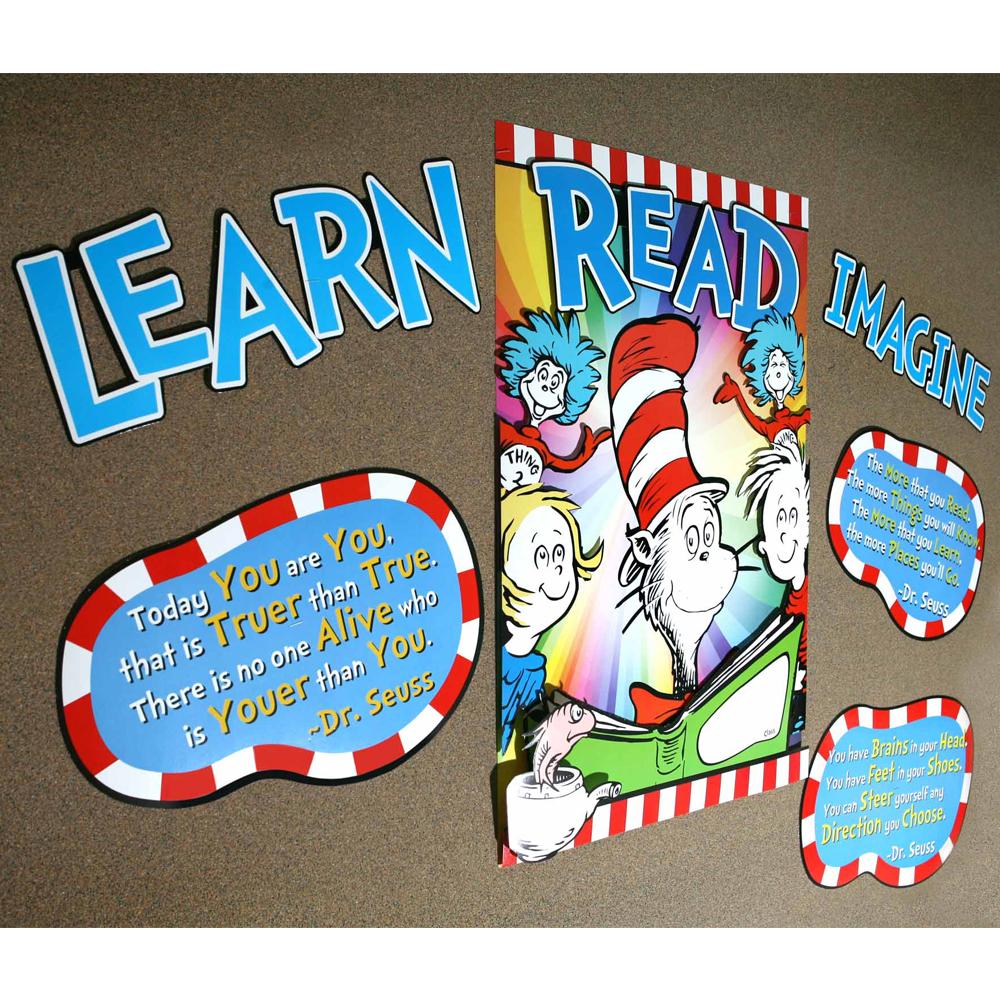 Dr. Seuss™ 3-D Motivational Bulletin Board Set
