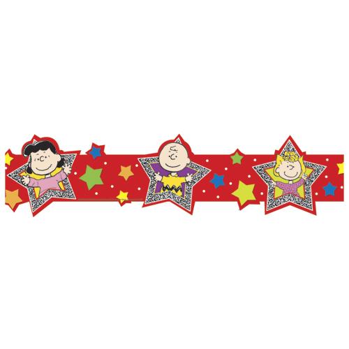 Peanuts® Die-cut Super Star Wide Deco Trim®