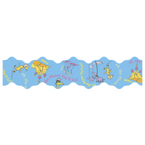 Dr. Seuss™ Oh The Places Wide Deco Trim®