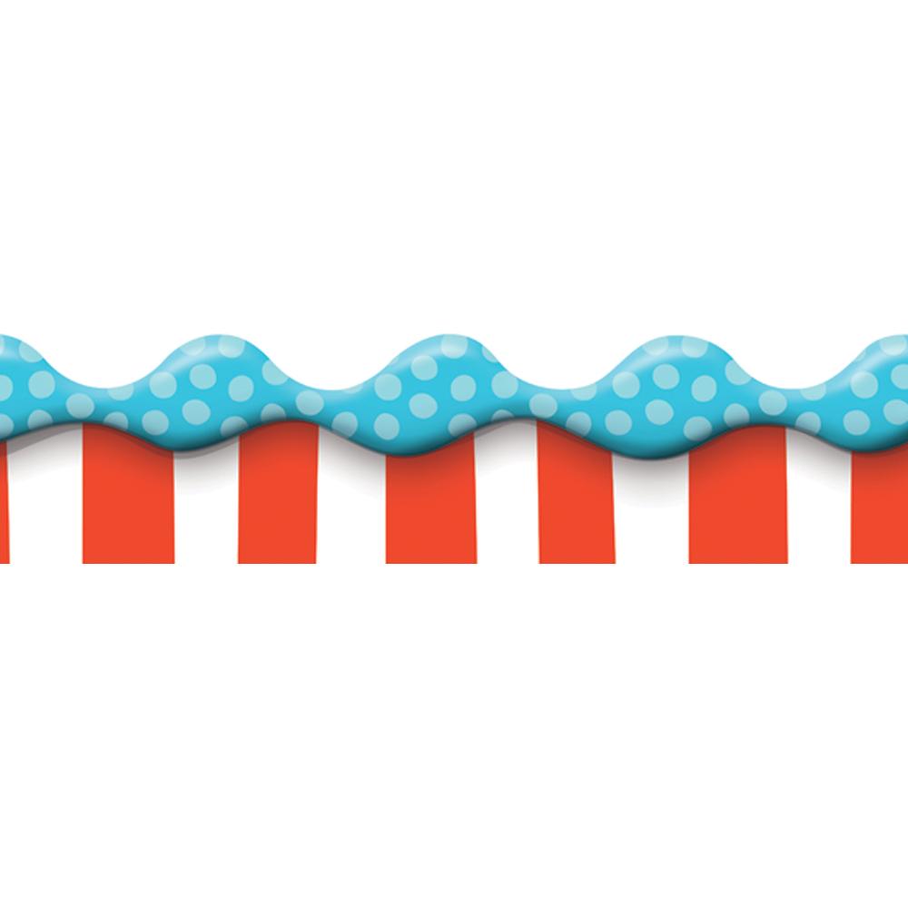 Dr. Seuss™ Dimensional Stripes Wide Deco Trim®