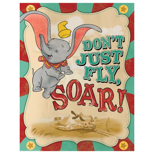 Dumbo® Soar Motivational Poster