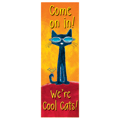 Pete the Cat® Come On In! Vertical Banner