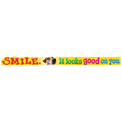 Smile. It Looks Good… Quotable Expressions® Banner