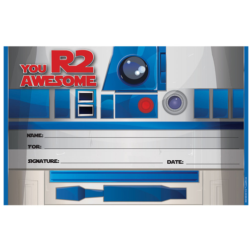 Star Wars™ Recognition Awards - 36/Pkg
