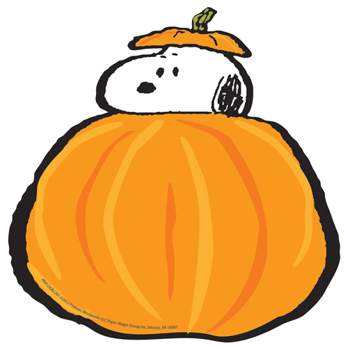 'Peanuts® Snoopy''s Fall Pumpkins Paper Cut-Outs - 36/Pkg'