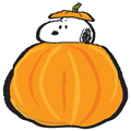 Peanuts® Snoopy's Fall Pumpkins Paper Cut-Outs - 36/Pkg