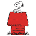 Peanuts® Snoopy on Dog House Paper Cut-Outs - 36/Pkg