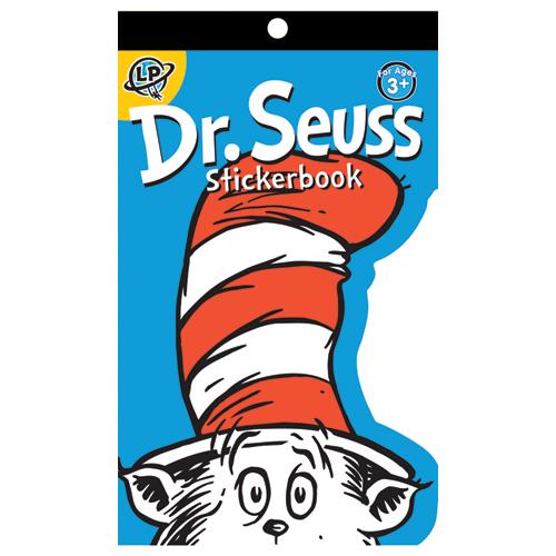 Dr. Seuss™ Die-Cut Motivational Sticker Book