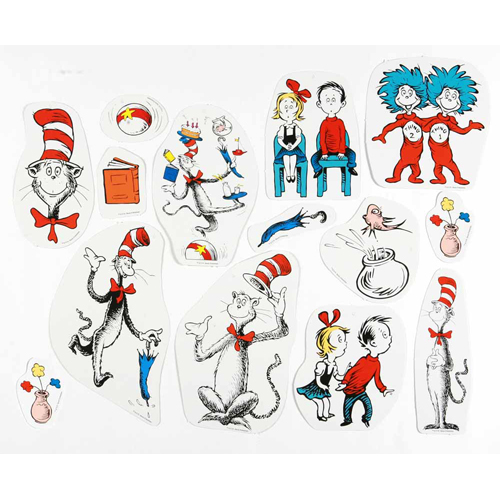 Dr. Seuss™ The Cat in the Hat™ Characters 2-Sided Deco Kit