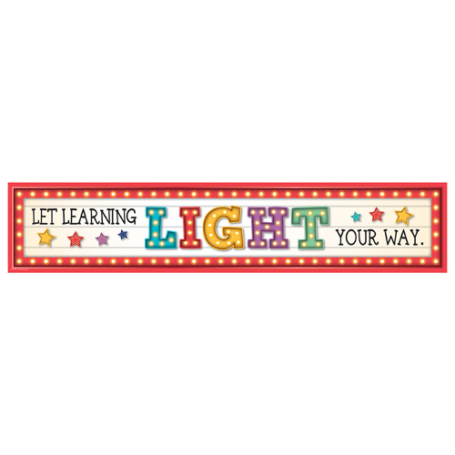 Let Learning Light Your Way Horizontal Banner