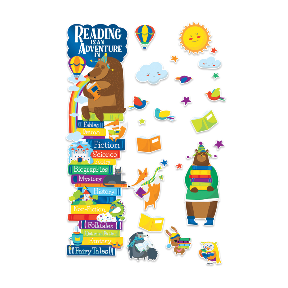 Reading Is An Adventure All-In-One Door Decor Kit