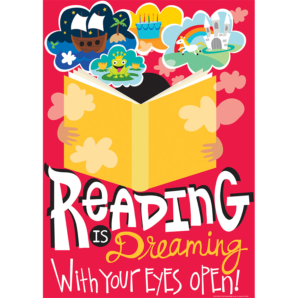 Reading Is Dreaming Reading PosterNew!