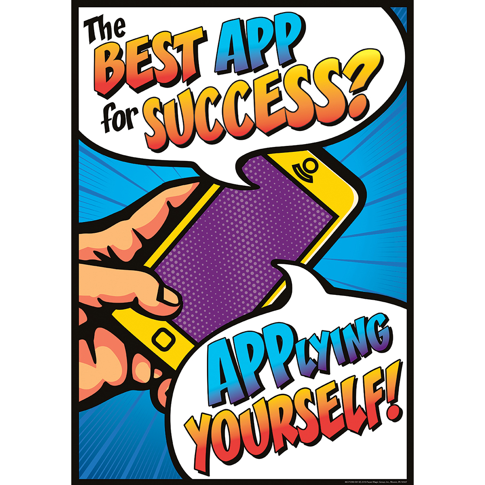 The Best App For Success? Motivational PosterNew!