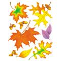 Fall Leaves Window Clings