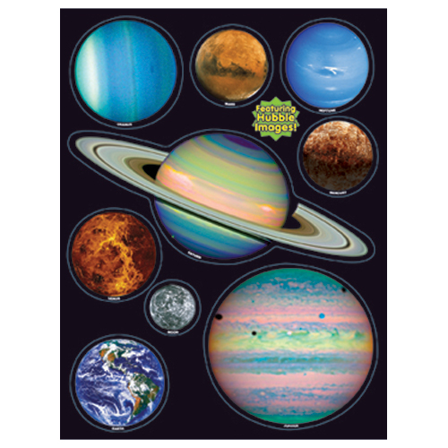 Planets - Hubble Images Window Clings
