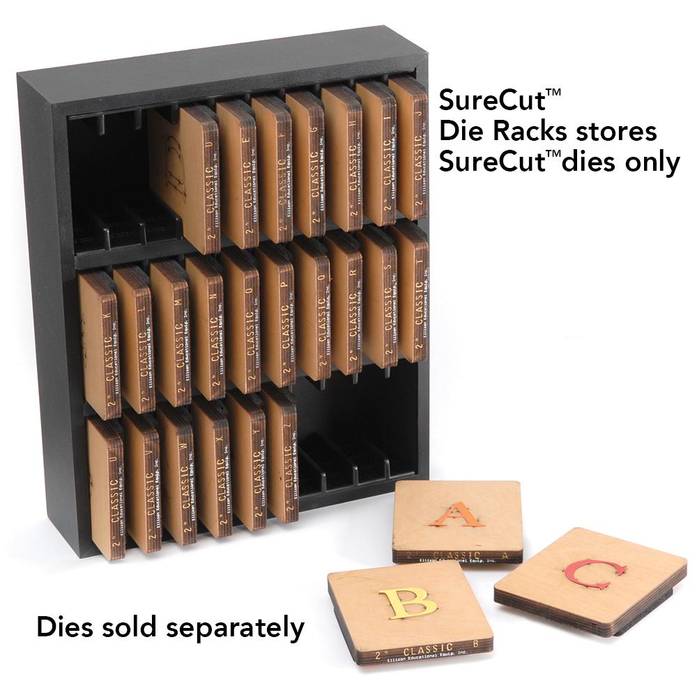 Ellison® SureCut™ Die Storage Rack - 30 Slot Standard
