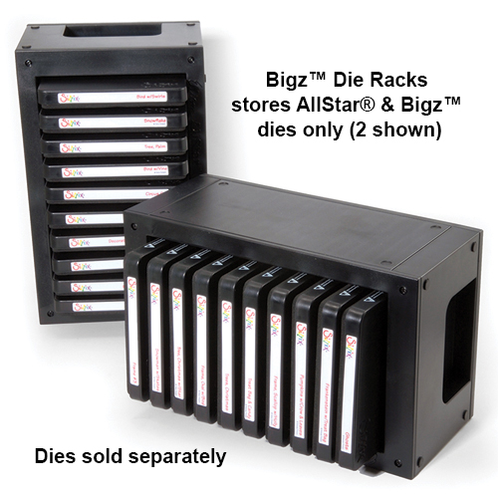 Ellison® AllStar® and Bigz™ Die Storage Rack - 10 Slot