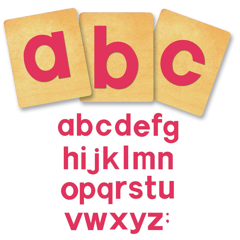 "Ellison® SureCut™ Block Lowercase Letters Die Set - 4"""