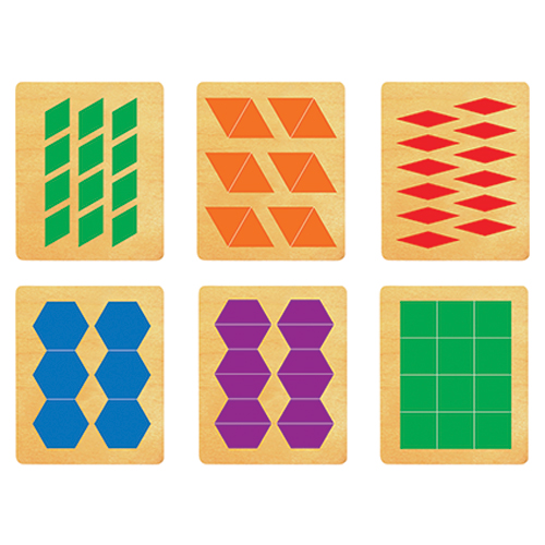 Ellison® SureCut™ Pattern Blocks Die Set - 5 in.