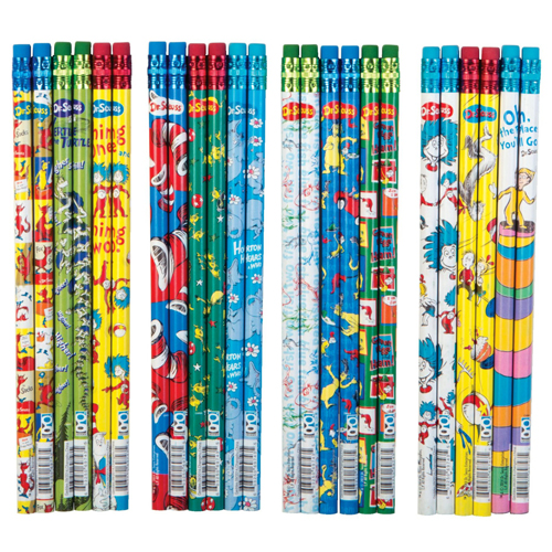 Dr. Seuss™ Pencil Assortment #1 - 72/Pkg