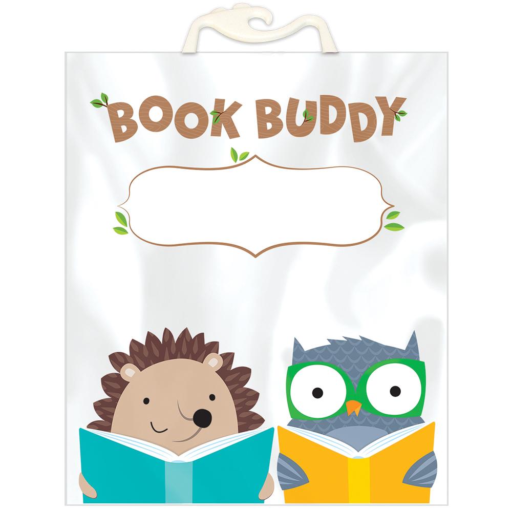 Book Buddy Bags - Woodland Friends - 6/Pkg