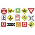 Reading Road Signs Bulletin Board Set