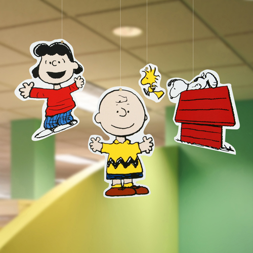 Peanuts® Characters 2-Sided Deco Kits