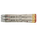 Recycled Newspaper Pencils - 24/Pkg - CLEARANCE