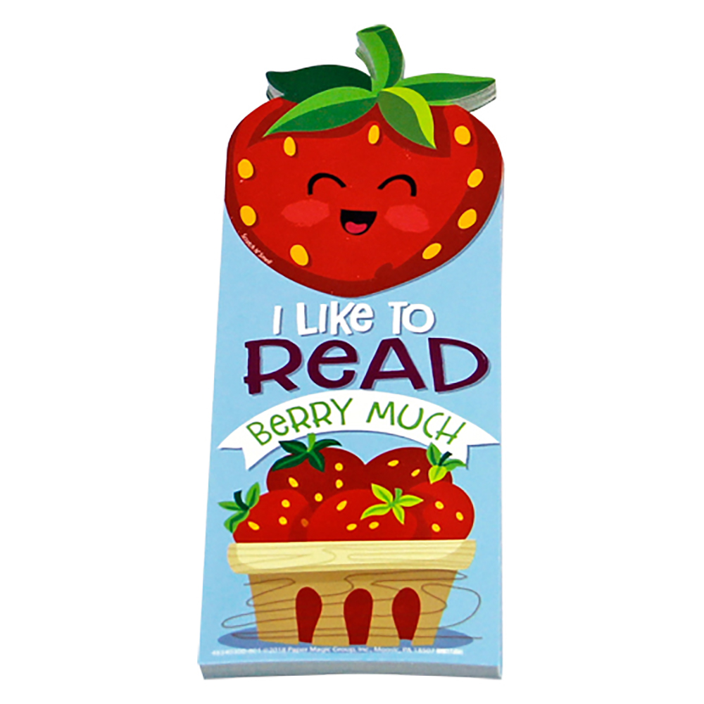 I Like To Read Berry Much Scented Bookmarks - 24/Pkg