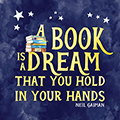 A Book Is A Dream Laminated Poster