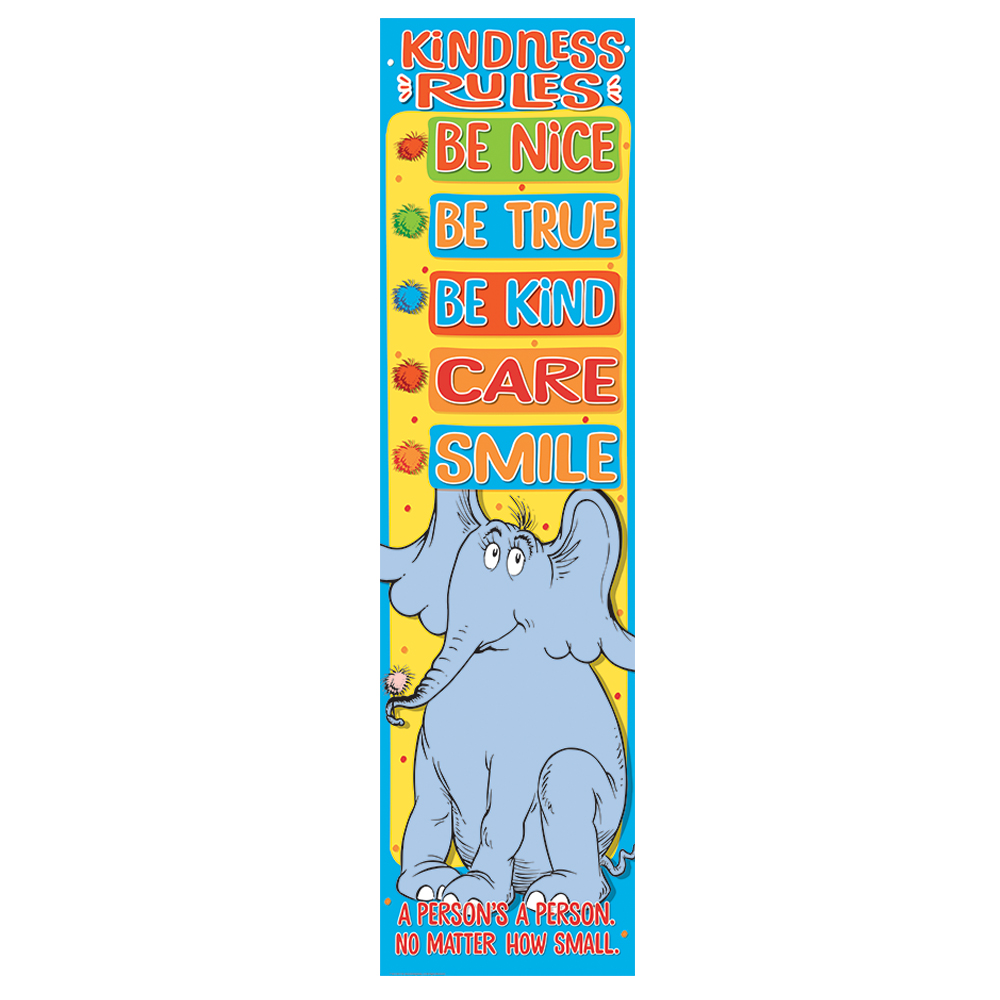 Dr. Seuss™ Horton Hears A Who: Kindness Rules Vertical Banner