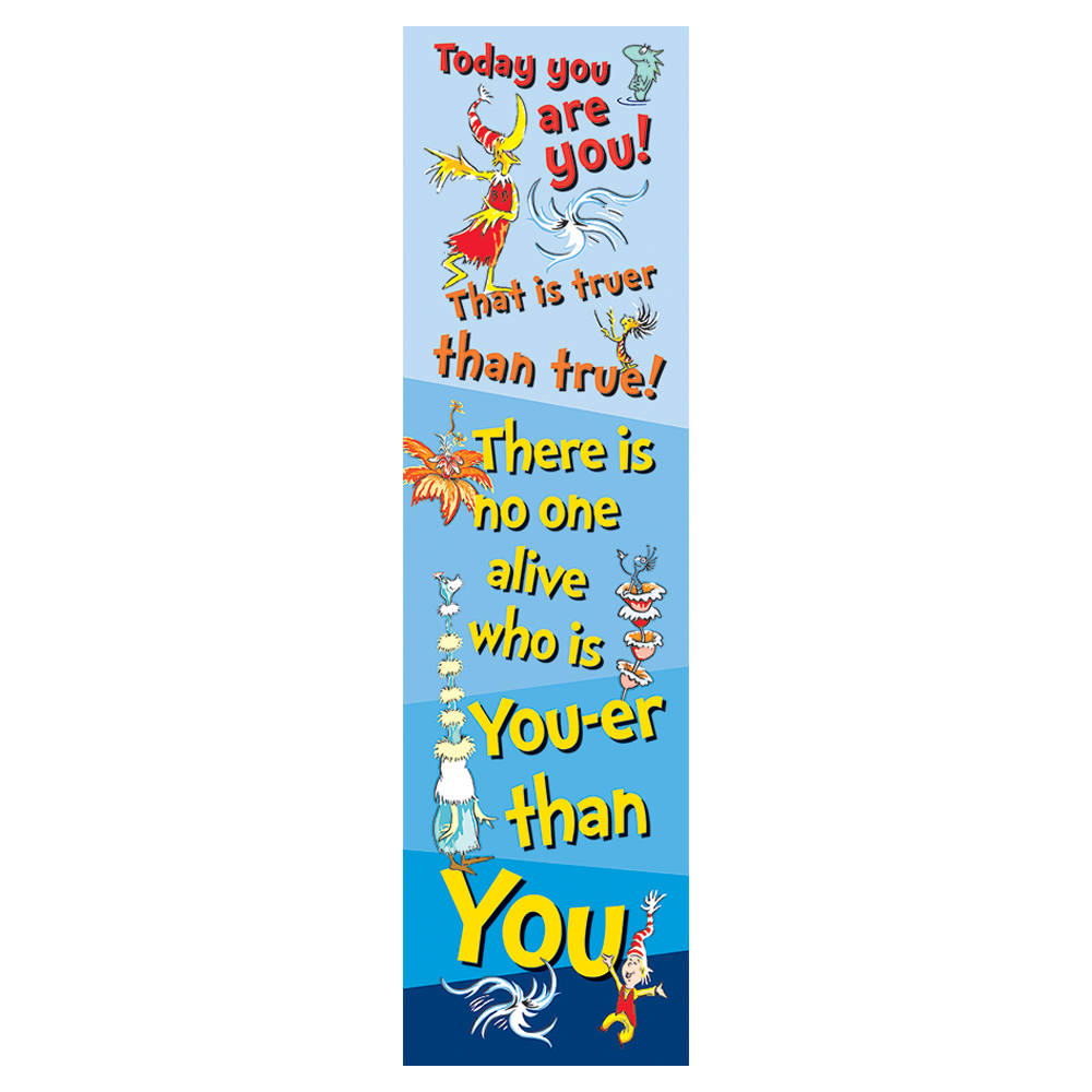 Dr. Seuss™ Today You Are You Vertical Banner