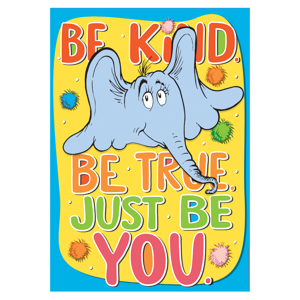 - Dr. Seuss Horton Hears A Who Be Kind PosterNew