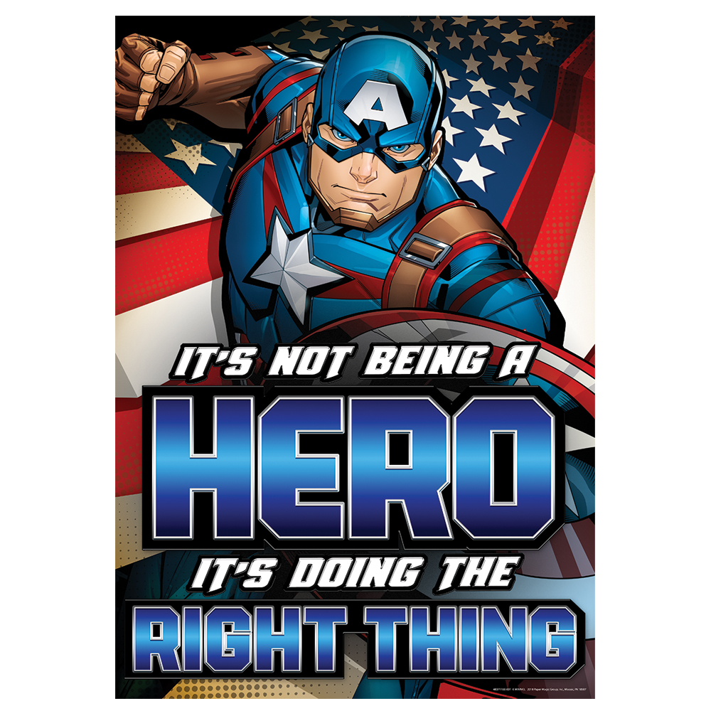 Marvel™ It's Not Being A Hero Poster